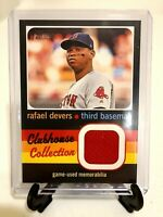 2020 TOPPS HERITAGE HIGH NUMBER CLUBHOUSE COLLECTION RAFAEL DEVERS RELIC