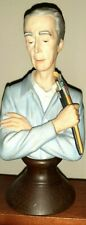 Bust Of Norman Rockwell Figurine Rare Vtg 1984 Ltd Ed By Curtis Pub #515/20,000