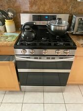 Samsung 30 Inch Gas Range Model #Nx58M6850 Hardly ever used