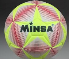 New Minsa High Quality nice Soccer Ball Official Size 5 Competition Game Ball