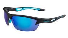 BOLLE  SUNGLASSES  BOLT  12203 MATTE  BLACK/BLUE NT  BLUE  COATING  ANTI  FOG