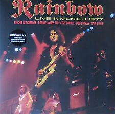 Rainbow Live In Munich 1977 foldout Manche 2lp Neuf/New