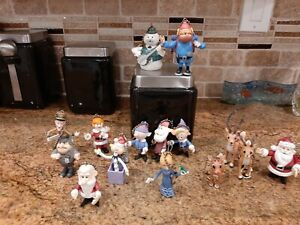 2000 RUDOLPH And THE ISLAND OF MISFIT TOYS ORNAMENT KEY CHAIN LOT of 15*RARE*