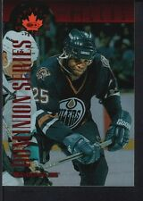 MIKE GRIER 1997/98 DONRUSS CANADIAN ICE  #121  DOMINION OILERS SP #118/150