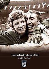 LEEDS UNITED VS SUNDERLAND 1973 FA CUP FINAL ORIGINAL BRAND NEW DVD FOOTBALL
