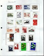 1¢ WONDER'S ~ DENMARK MINT & USED SMALL LOT ALL SHOWN ~ G1002
