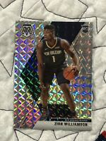ZION WILLIAMSON ROOKIE 2019-20 PANINI SILVER PRIZM MOSAIC  NEW ORLEANS PELICANS