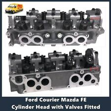 Ford Courier Mazda E2000 Cylinder Head with Valves Includes Vrs Gasket Set