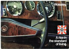 Wolseley 1300 & Six 1972-73 UK Market Sales Brochure