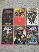 Marvel New Avengers TPB Lot Vol 1, 5, 7, 9, 10, 11 Bendis