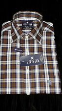 Stafford Easy Care Broadcloth Dress Shirt......14.5