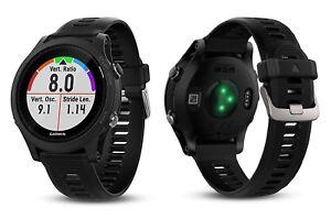 Garmin Forerunner 935 GPS Triatlón Multisport HRM Pulsometro Reloj Negro/Gris