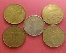 Greece  set 5 coins --1997-1998-1999-2000