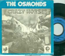 "THE OSMONDS - CRAZY HORSES ( DUTCH MGM 2006142) 7""PS  1972"