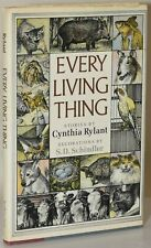 Cynthia Ryland / EVERY LIVING THING Signed First Edition 1985 #279661