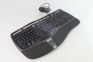 Microsoft KU-0462 Ergonomic USB English QWERTY Keyboard
