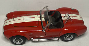 1965 Shelby Cobra 427 S/C Red Welly 1:24