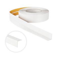 PVC Winkelprofil Knickwinkel 18x18 Selbstklebend Kunststoff Gummi Kantenschutz