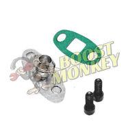 6061 Aluminum Turbo Oil Drain Return Flange Adapter For T3 T4 T04 GT40R GT42 New