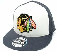 Chicago Blackhawks - Reebok TY22Z NHL Team Logo Flex Hockey Cap Hat - L/XL & S/M
