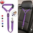 Adjustable Pet Dog Travel Seat Belt Clip Lead For Car Safety Restraint Harnesses