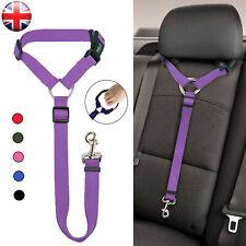 More details for adjustable pet dog travel seat belt clip lead for car safety restraint harnesses