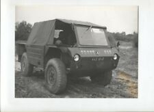N°10760 /  photo véhicule militaire Bison 4x4 1970 ?