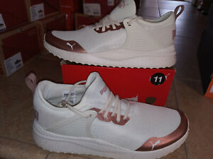 NEW Womens Puma Pacer Next Cage Metspeckle Sneakers shoes, size 11