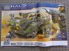 Megabloks Halo UNSC Elephant 96942 Instructions Only