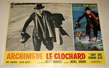 fotobusta originale ARCHIMEDE LE CLOCHARD Jean Gabin Gilles Grangier 1959 #9