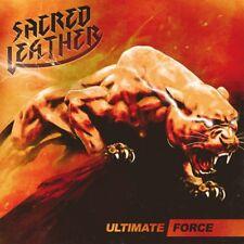 SACRED LEATHER - Ultimate Force (NEW*US METAL*RAM*JUDAS PRIEST*ENFORCER)
