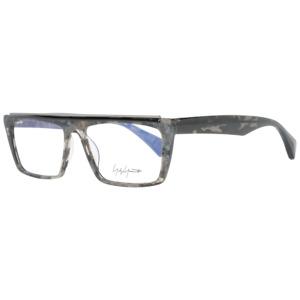 Yohji Yamamoto Grey Eyeglasses frames optical YY1045 57055 mm Clear Lens