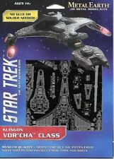 Star Trek Klingon Battlecruiser Metal Earth 3-D Laser Cut Steel Model Kit MMS283