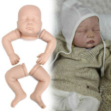 "Reborn Molly - 20 - 22"" Unpainted Baby Doll Kit Closed Eyes Asleep Boy or Girl"
