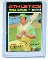 1971 Topps #20  Reggie Jackson Oakland Athletics Baseball Card