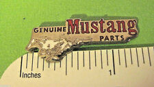 GENUINE MUSTANG  parts -  hat pin , lapel pin , tie tac , hatpin GIFT BOXED