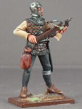 Medieval crossbow ballista armored Genoese crossbowman  54mm model medal figureX