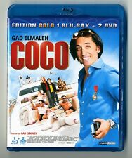 BLU-RAY + DVD / COCO - GAD ELMALEH / EDITION GOLD 3 DISC