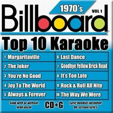 NEW - Billboard Top-10 Karaoke - 1970's Vol. 1 (10+10-song CD+G)