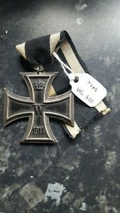 Orig WW1 German Iron Cross maker marked We 800