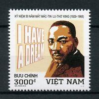 Vietnam 2018 MNH Dr Martin Luther King Jr MLK 1v Set Famous People Stamps