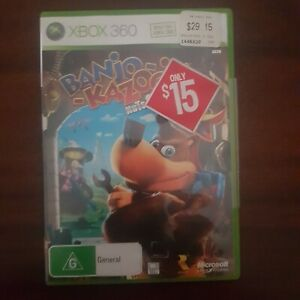 BANJO KAZOOIE Nuts & Bolts Xbox 360 Complete PAL Game Very Good Condition