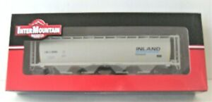 InterMountain Ho 55' Cylindrical Covered/Hopper #45239-02 CNLX/Inland Cement NIB
