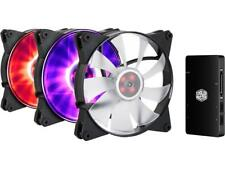 3 MasterFan Pro 140 Air Flow RGB with Jet-Inspired Fan Blade, Noise Reduction Te