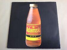 ADAMSKI - 1990 Vinyl 45rpm Single - N - R - G