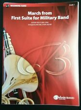 March From First Suite for Military Band Belwin Score & Parts (35338)
