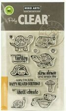 Hero Arts Poly Clear Stamp Set Pet Turtle