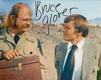 Hand Signed 8x10 photo BRUCE GLOVER - Diamonds Are Forever - JAMES BOND + my COA