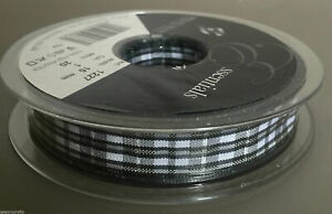 Berisfords Tartan Ribbon Christmas - 15/25/40mm - 4 Designs x1/2/5/10/20m