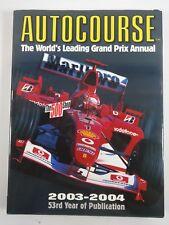 Autocourse Formula-1 2003 - 2004 World's Leading Grand Prix Annual Yearbook